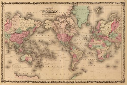 Old world map poster print 36 x 24 item pyrpas0474 creating old world map poster print 36 x 24 item pyrpas0474 gumiabroncs Choice Image