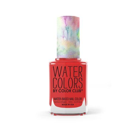 Color Club Water Colors Non Toxic Nail Color I Have A Sea Cret In
