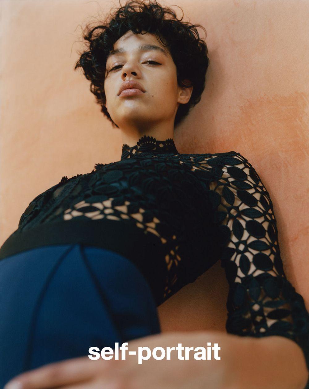 Fashion Copious - Damaris Goddrie for Self Portrait FW 15.16 Campaign by Lea Colombo