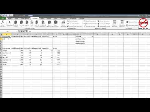 Excel Database Functions Jargon Free Help Excel formulae - free spreadsheet application for windows 10