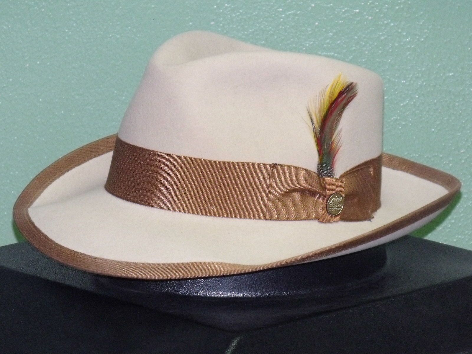 Special edition stetson whippet soft fur felt fedora hat  dc1ed9b014c8