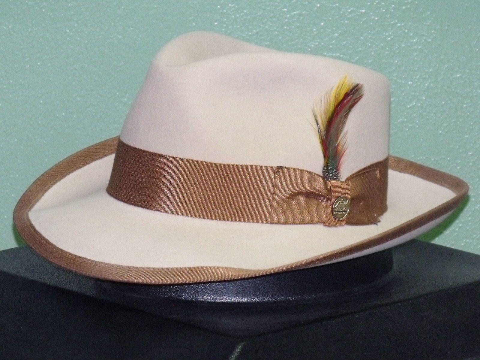 Special edition stetson whippet soft fur felt fedora hat  dc1ed9b014c8