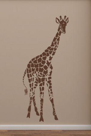 #Wandtattoo #Giraffe