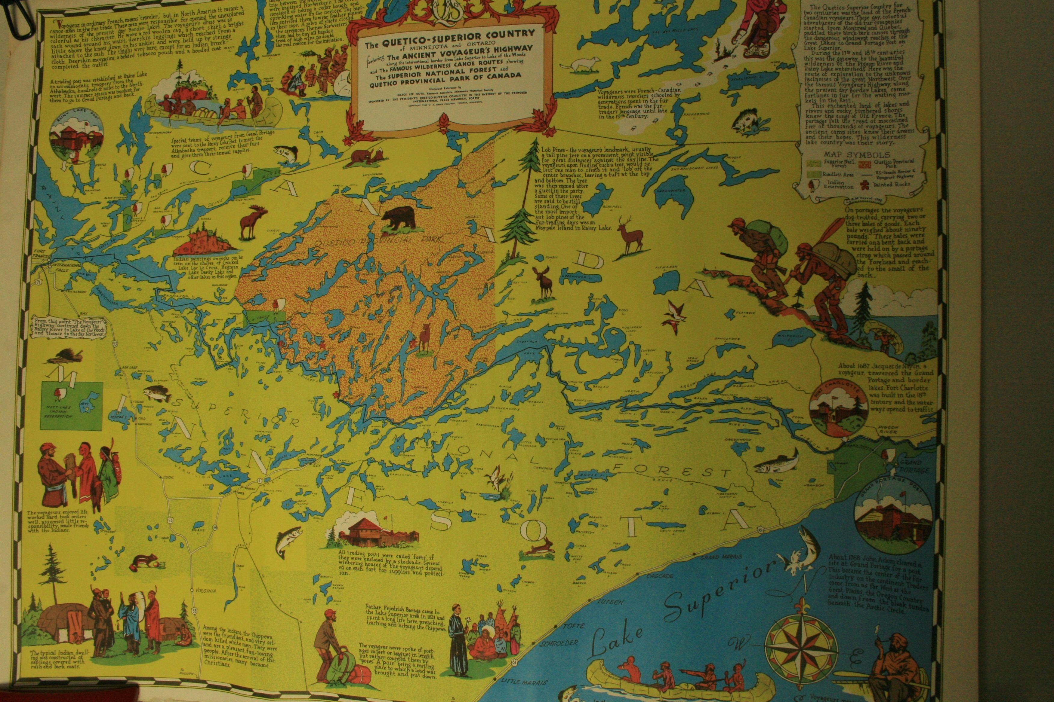 Voyageuru0027s Highway Map 17 x 22