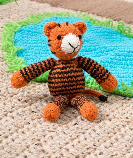 Knit Jungle Animals - Tigers - 11 free patterns ...