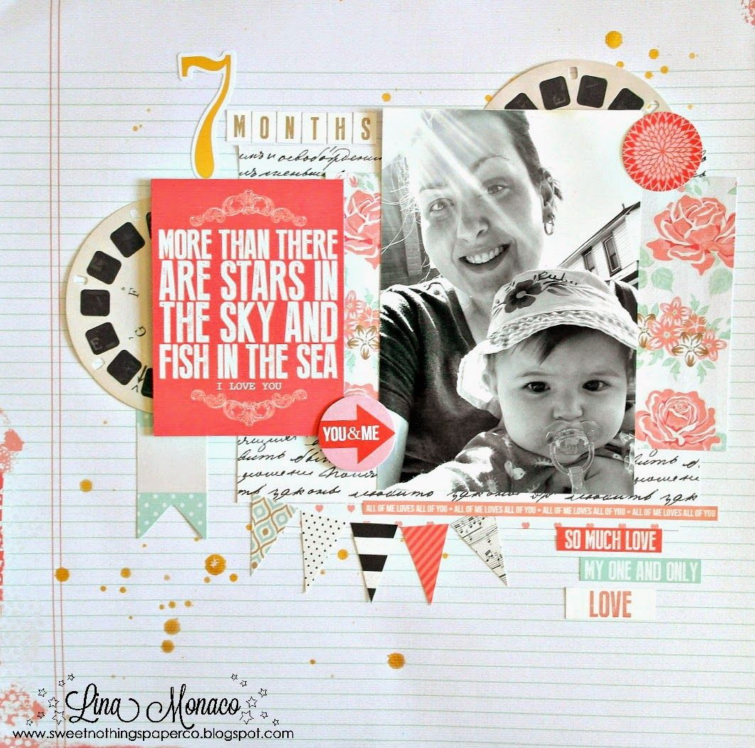 Sweet Nothings Paper Co.: Layouts