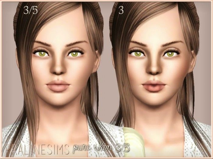 Pure Skin 3/5 by Pralinesims - Sims 3 Downloads CC Caboodle