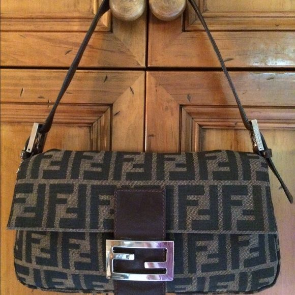 Reduced Vintage Fendi Zucca Baguette Fendi Vintage Fendi Bags