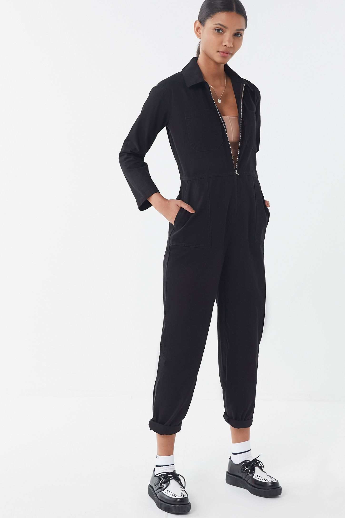 07191c72a33 Slide View  1  UO Rosie Utility Jumpsuit