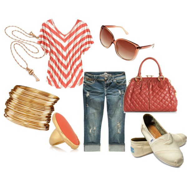 """""""Ready for the day"""" by smedley6pak on Polyvore  *Like everything but the shoes...*"""