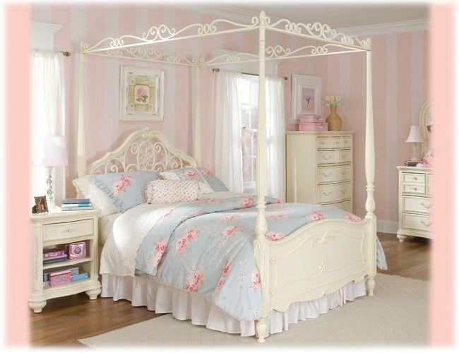 Cama estilo rom ntico quartos pinterest camas - Camas estilo romantico ...