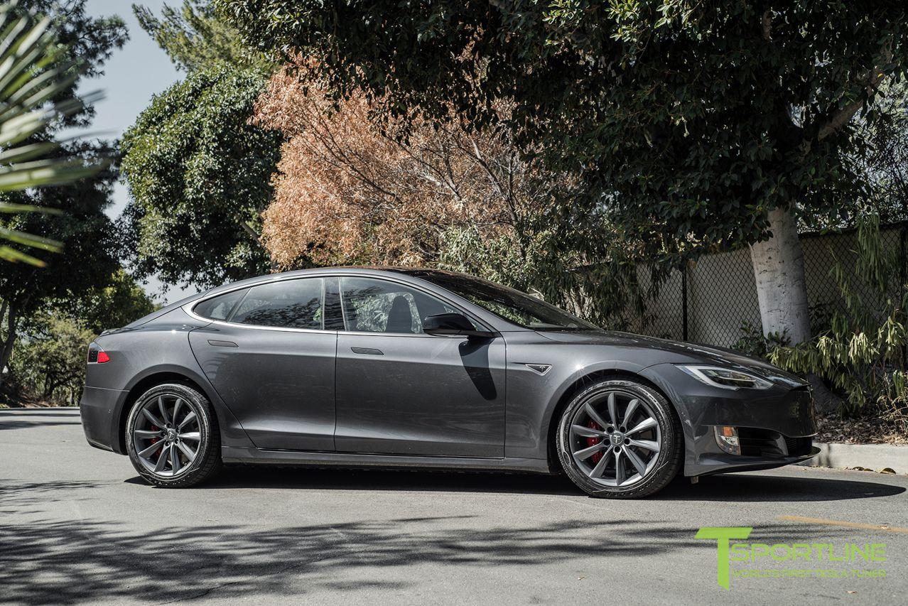 Midnight Silver Metallic Tesla Model S 19 Inch Wheels Tst Metallic Grey 3 Jpg 1 278 853 Pixels Tesla Model S Tesla Model Tesla