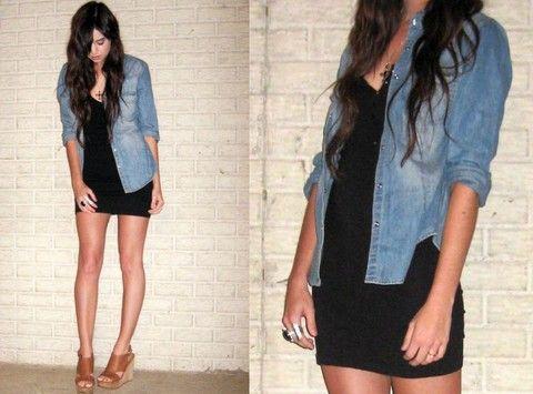 H m black dress shirt for girls