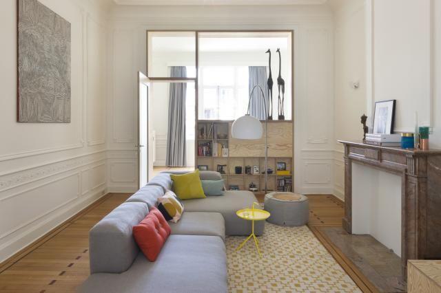Modern Interieur Herenhuis : Living herenhuis house