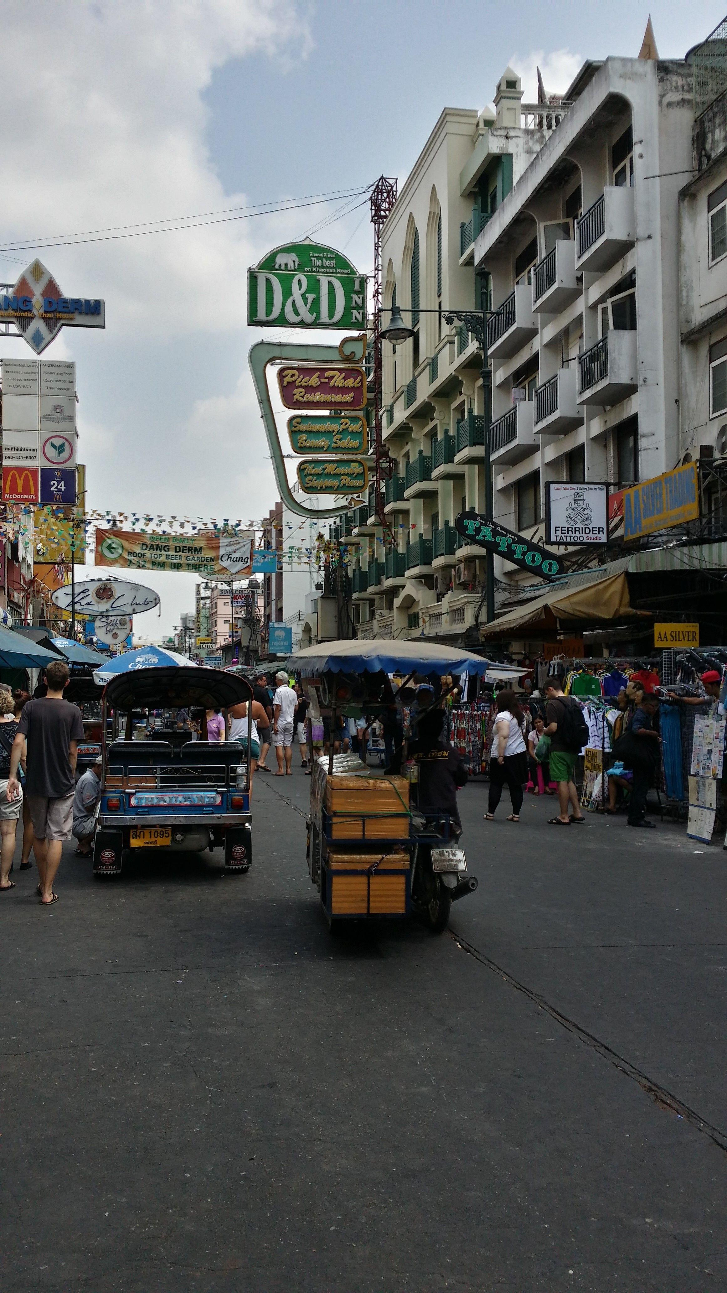 thailand, bangkok, kao san road, tuk tuk, streetfood, garküche