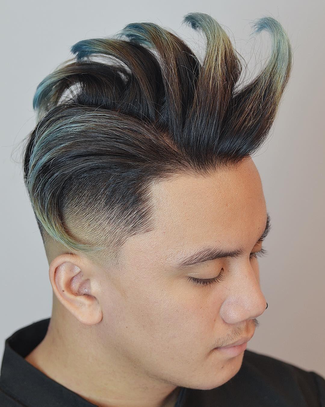 Mens haircut diagram  cool and trendy faux hawk styles  hair  pinterest  faux hawk