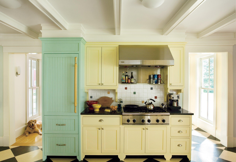 Küche interieur farbschemata gehäuse farben für kleine küchen  formica küchentisch wie in