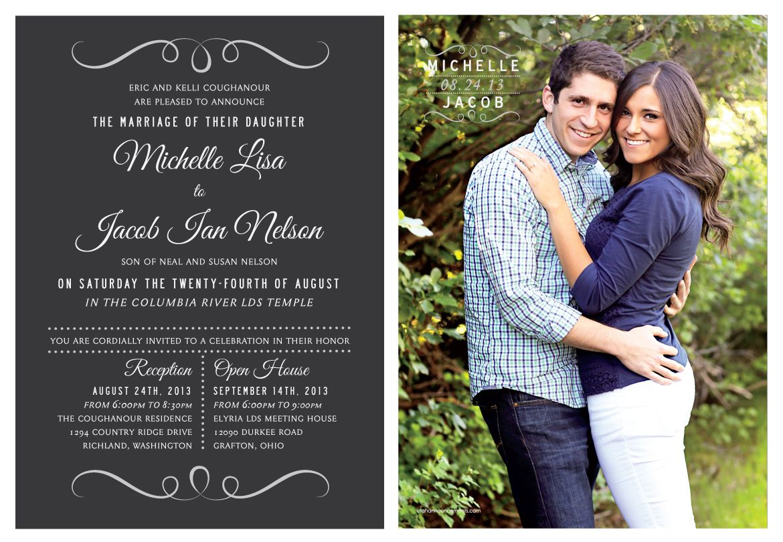 wedding invitations utah lds wedding invitations utah wedding announcements httpwww