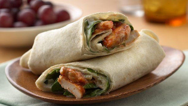 Enjoy this tortilla wrap filled with sweet and spicy chicken simmered in Old El Paso® salsa - perfect if you love Mexican cuisine.