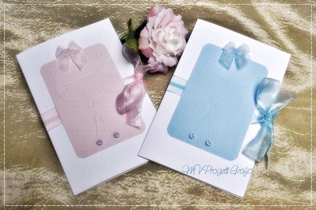 BIGLIETTI SCRAP BATTESIMO-NASCITA, by Progetti Grafici per Matrimoni ed Eventi, 2,99 € su misshobby.com