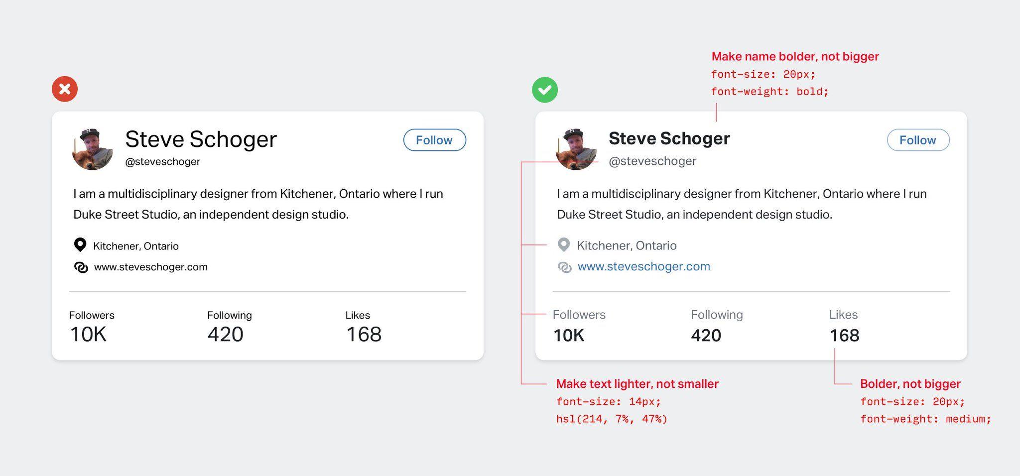 Steve Schoger na Twitterze: \