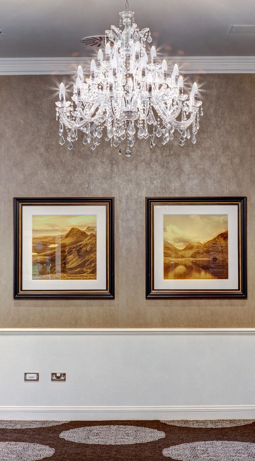 #chandelier #kingsmills #reception #foyer #dining #event #inverness #scotland #highlands #awardwinning #hotel