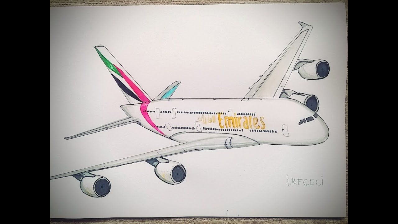 How To Draw Jet Airways