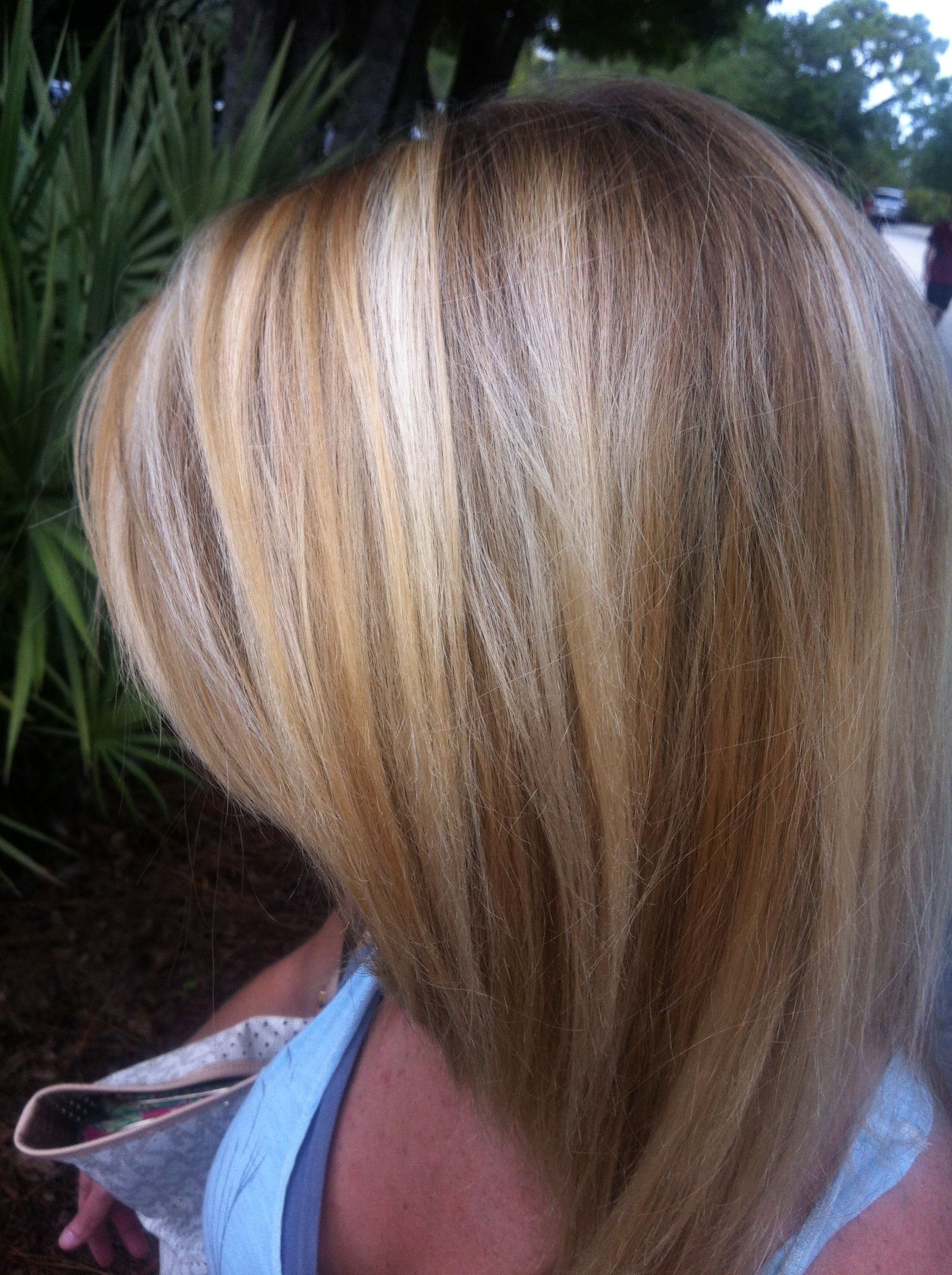 Natural Dirty Blonde With Highlights And Neutral Medium Dark Blonde