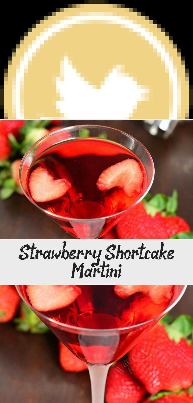 Strawberry Shortcake Martini is a beautiful dessert martini that tastes like a classic strawberry dessert. This cocktail is made with cake vodka, strawberry liqueur, strawberry kiwi juice, and whipped cream vodka. #drink #cocktail #valentines #Valentinesdrink #strawberry #Girldrinkcocktails #Fireballdrinkcocktails #Ladiesdrinkcocktails #drinkcocktailsEasy #Persondrinkcocktails