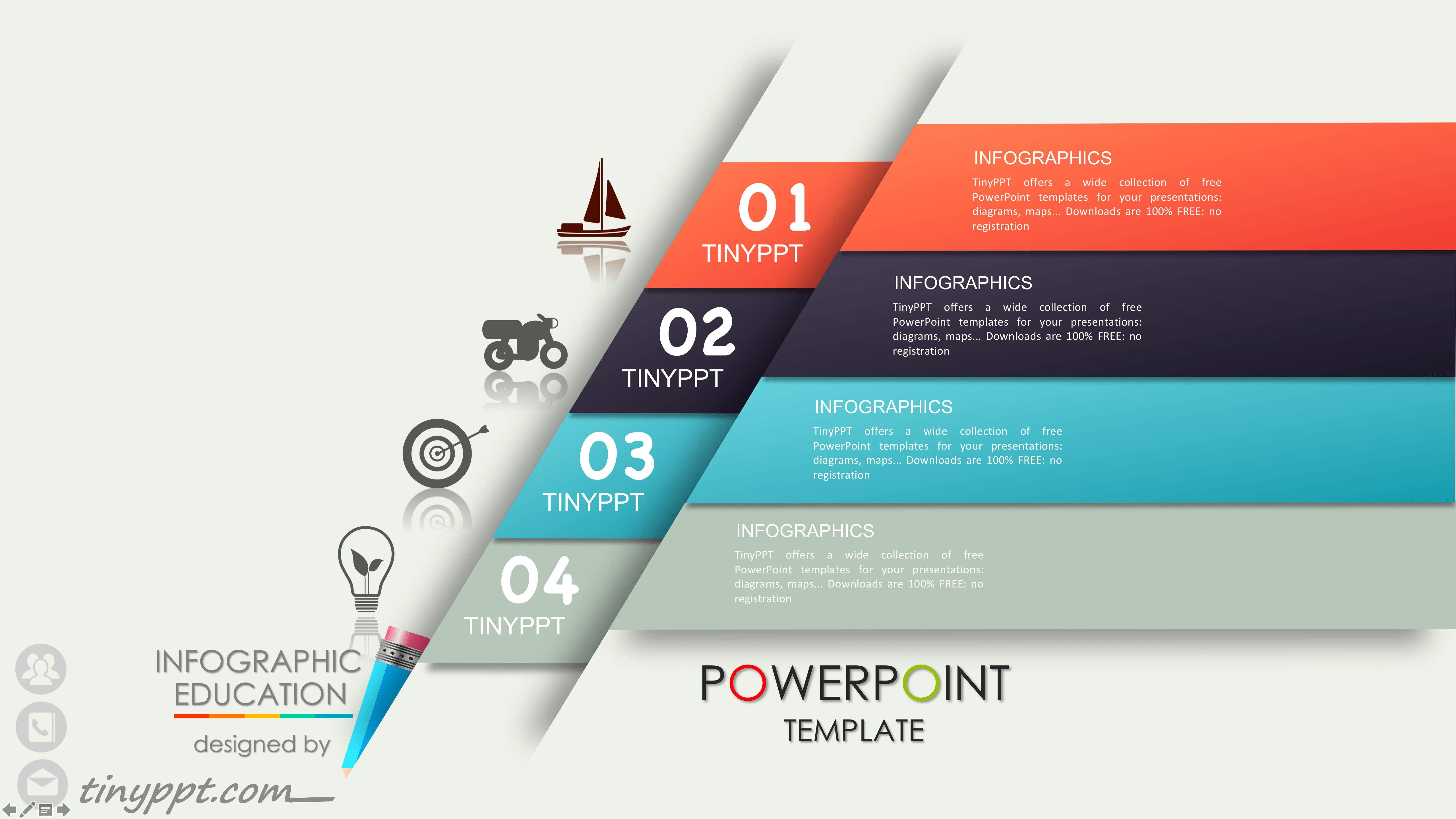 014 Business Proposal Powerpoint Template Free Download Reference Bike Ppt Templates Design Of Kartu Nama Pendidikan Desain