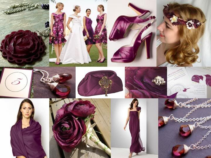 Plum And Silver