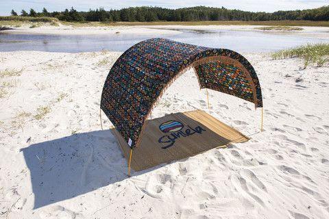 Beach Tent Blackfishies Suniela Beach Designs Tenda