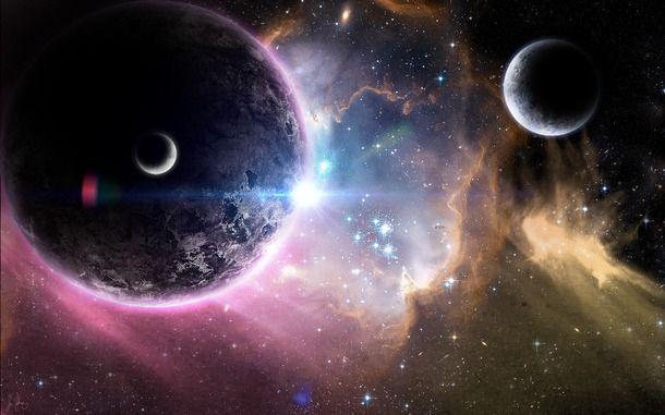 space, palents, stars - image #483251 on Favim.com