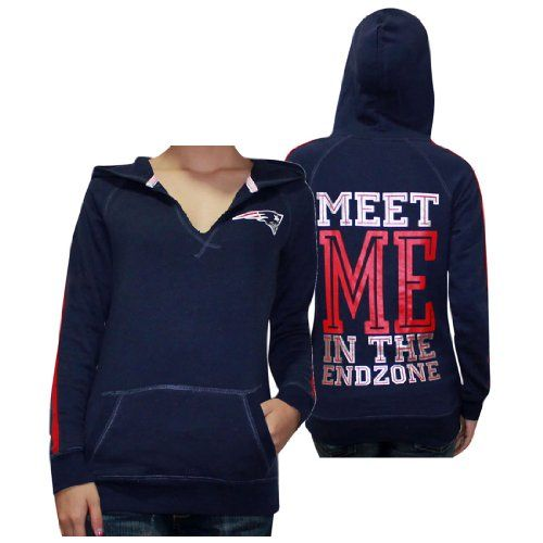 a7bf6b1231fae $39.99 nice Womens NFL New England Patriots Athletic Pullover Hoodie ...