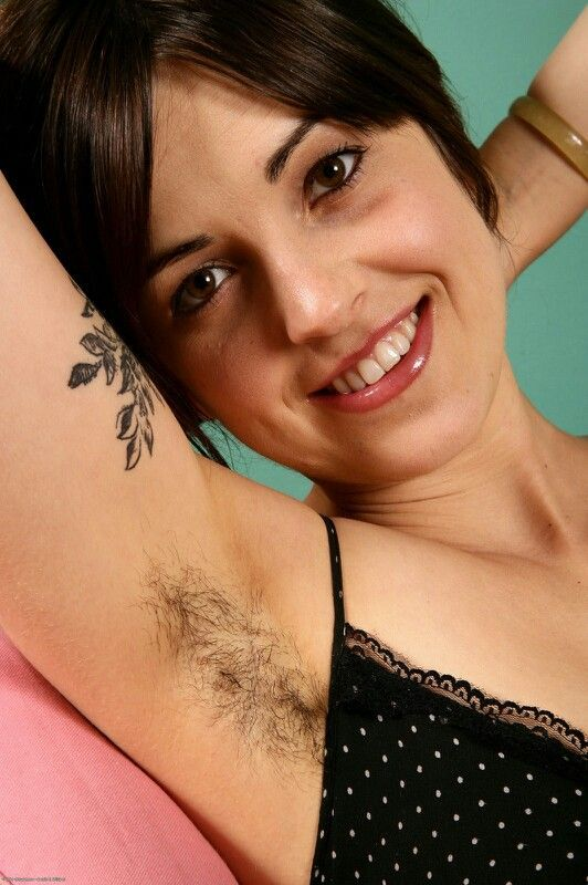 Hairy wife presenting