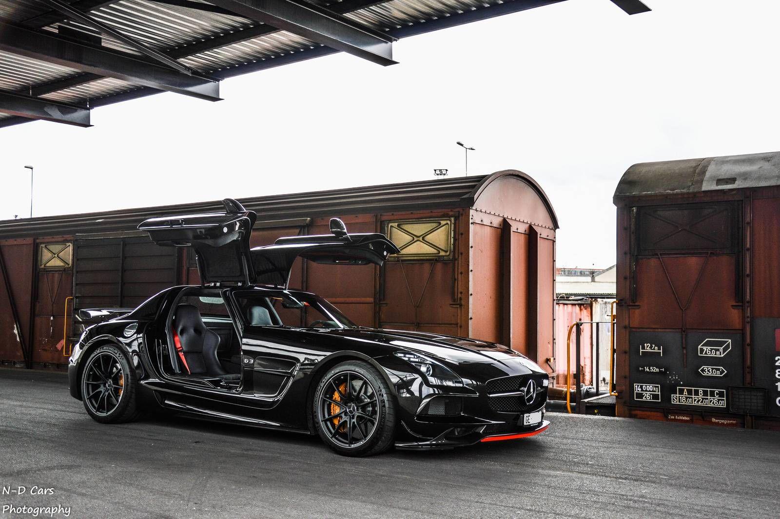 Mercedes Benz Sls Amg Black Series Car Lust Black