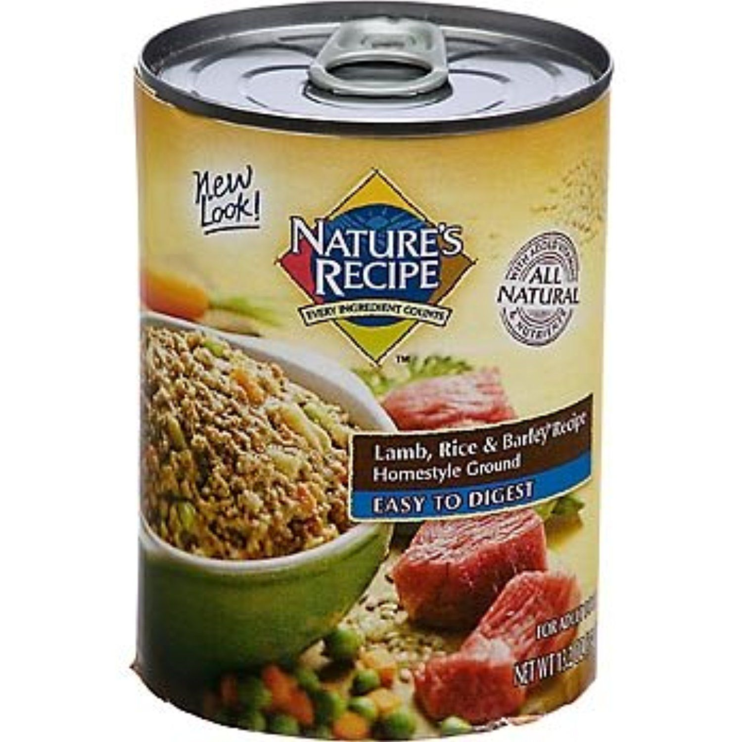 Nature S Recipe Easy To Digest Lamb Rice And Barley Formula Canned Dog Food You Could Get More D Canned Dog Food Dog Food Recipes Healthy Dog Food Recipes