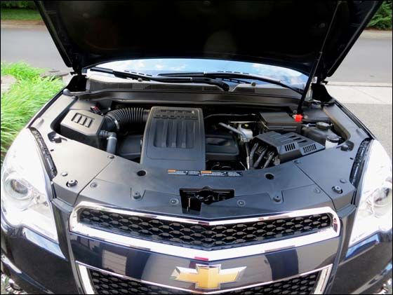 Under The Hood Of The 2015 Chevy Equinox Chevy Equinox 2015