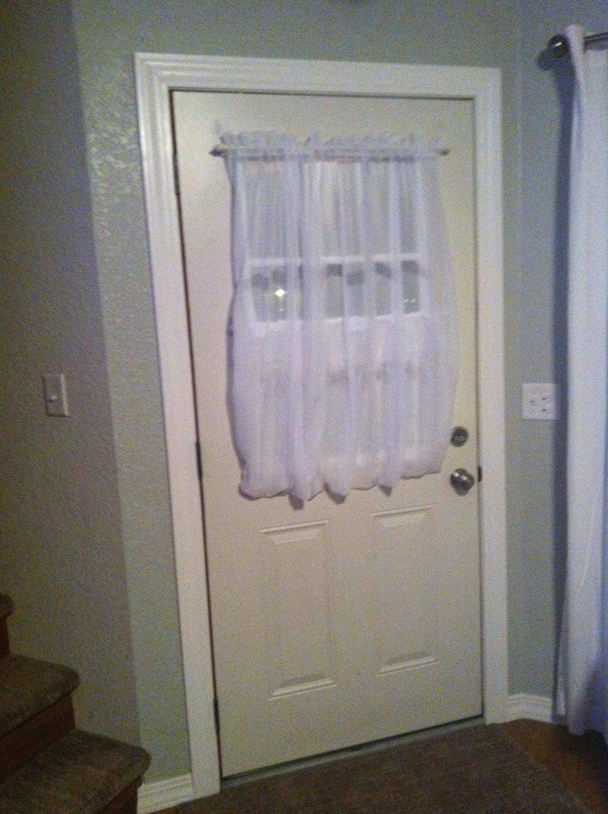 front door tension rod