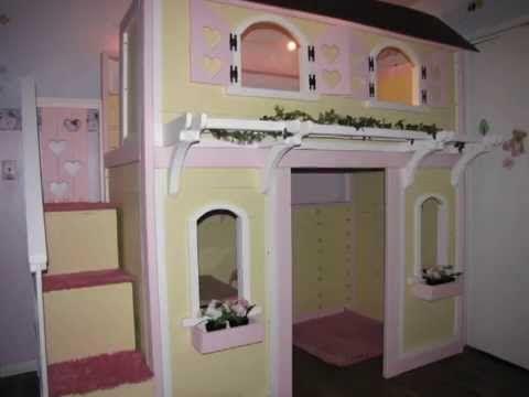 Bunk Bed Playhouse Diy Youtube الرجاء أثناء مشاهدة
