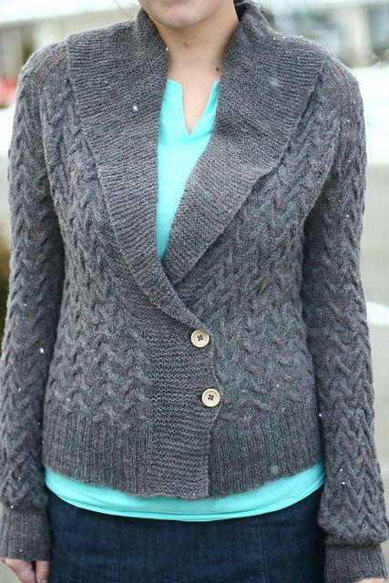 Ravelry: Sand Tracks Cardigan pattern by Jenise Reid