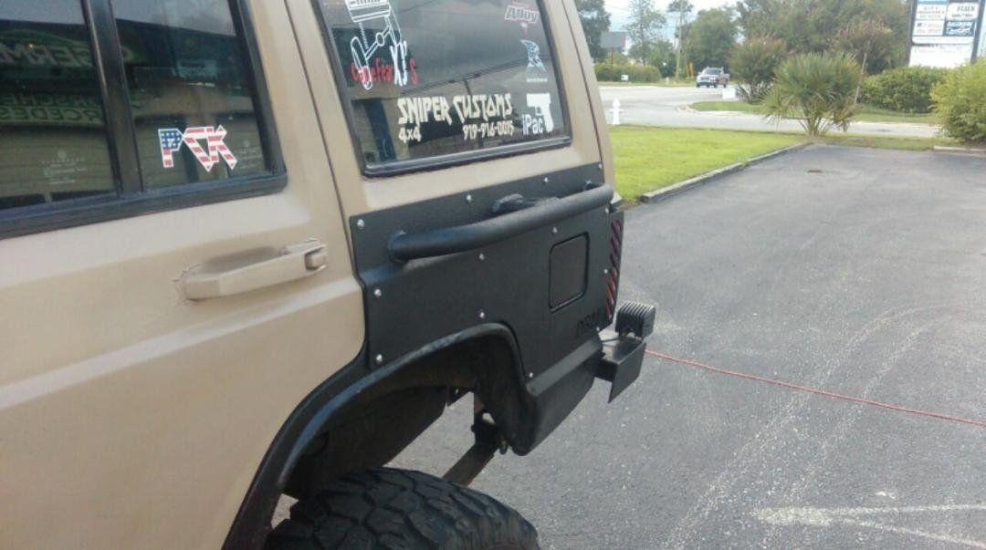 Xj 84 01 Jeep Cherokee Xj Quarter Panel Body Armor 2 4 Door