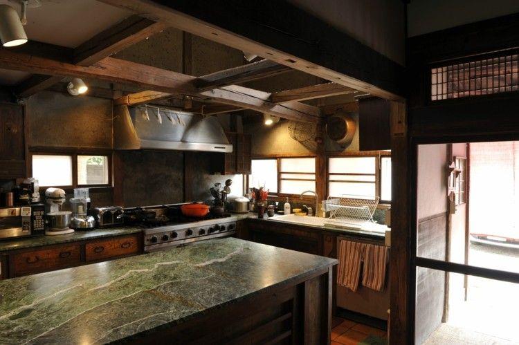 Cuisine de charme id es pour la cuisine rustique moderne - Refaire sa cuisine rustique en moderne ...