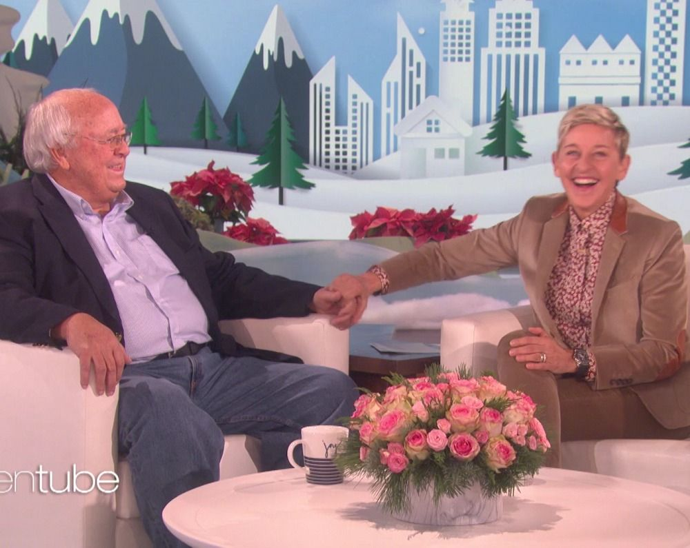 Ellen talks to a dad who stood up for his lesbian daughter / LGBTQ Nation