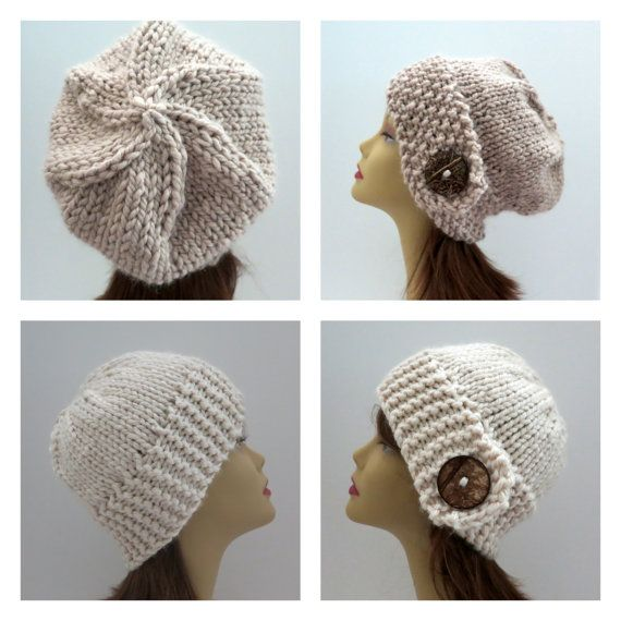 PDF 156 TWO Knitting Hat Patterns, Grab \'N Go Perfect Winter Hat in ...