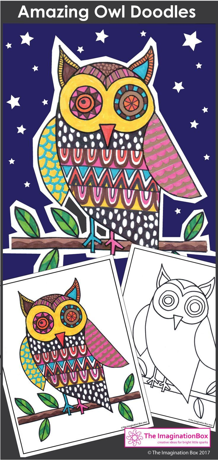 Winter coloring pages animal doodles art and writing activity