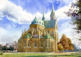 Catedral en Lodz por GreeGW