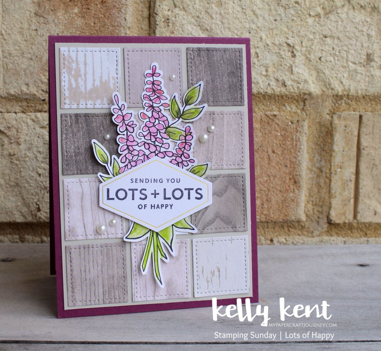 Lots Of Happy Kit Kelly Kent Happy Cards Floral Cards Flower Cards