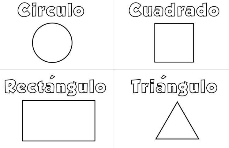 Coloring Page Base Figuras Geometricas Geometrico Colores