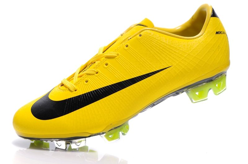 ea74968cdc4140 Nike CR Mercurial Vapor Superfly III FG Safari Cleat - Yellow Black ...